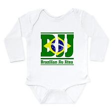 Brazilian Jiu Jitsu Long Sleeve Infant Bodysuit