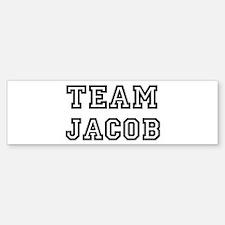 Team Jacob Bumper Bumper Bumper Sticker