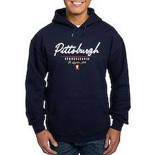 Pittsburgh Script Hoody
