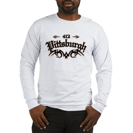 Pittsburgh 412 Long Sleeve T-Shirt