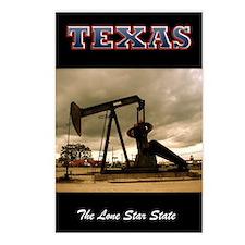 Texas Pumpjack Postcards (Package of 8)