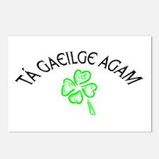 Tá Gaeilge Agam Postcards (Package of 8)
