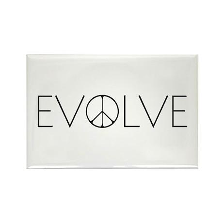 Evolve Peace Narrow Rectangle Magnet (100 pack)