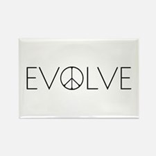 Evolve Peace Narrow Rectangle Magnet (100 pack)