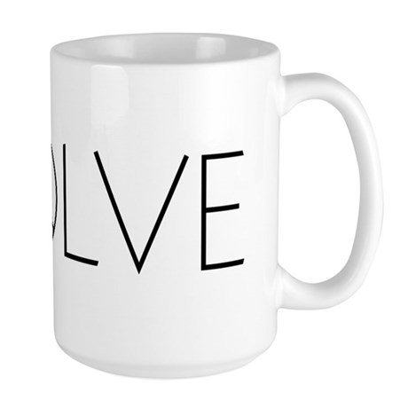 Evolve Peace Narrow Large Mug