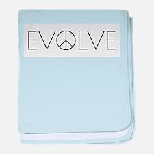 Evolve Peace Narrow baby blanket