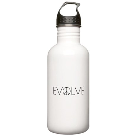 Evolve Peace Narrow Stainless Water Bottle 1.0L