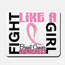 Licensed Fight Like a Girl 3.3 Mousepad