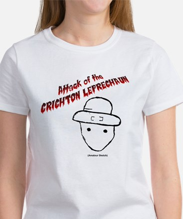 Attack of the Chrichton Leprechaun Women's T-Shirt