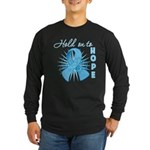 Prostate Cancer Long Sleeve Dark T-Shirt