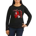 Oral Cancer Women's Long Sleeve Dark T-Shirt