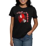 Oral Cancer Women's Dark T-Shirt