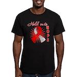 Oral Cancer Men's Fitted T-Shirt (dark)
