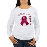 Multiple Myeloma Women's Long Sleeve T-Shirt