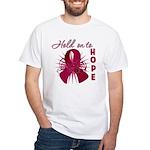 Multiple Myeloma White T-Shirt
