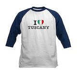 I love italy Baseball Jersey