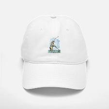 Fly fishing trout Baseball Baseball Cap