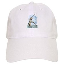 Fly fishing trout Baseball Cap