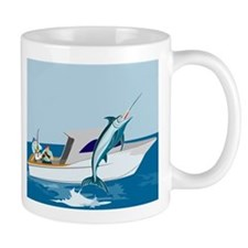 fishing blue marlin Mug