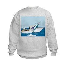fishing blue marlin Sweatshirt