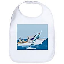 fishing blue marlin Bib