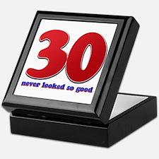 30 years never looked so good Keepsake Box