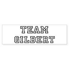 Team Gilbert Bumper Bumper Sticker