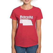 Nebraska Flat Tee