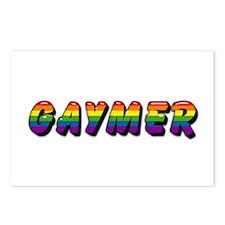gaymer Postcards (Package of 8)