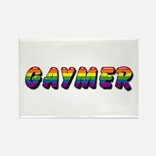 gaymer Rectangle Magnet
