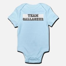 Team Gallagher Infant Creeper