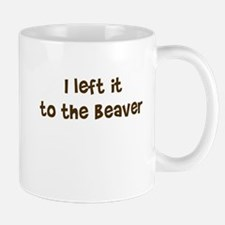 Left it to Beaver Mug
