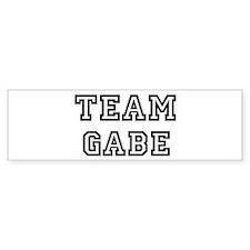 Team Gabe Bumper Bumper Sticker