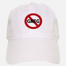 Anti-Greg Baseball Baseball Cap
