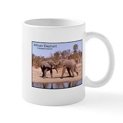 African Elephants Photo Mug