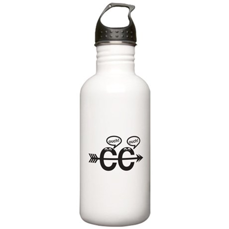 Cross Country - Ouch! Stainless Water Bottle 1.0L