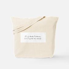 L. Brooks Patterson Tote Bag