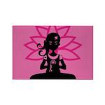 Yoga Girl Silhouette Magnet (100 Pk)
