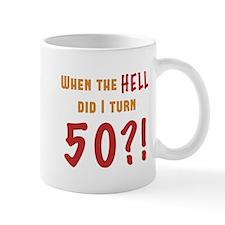 50th Birthday Attitude Mug