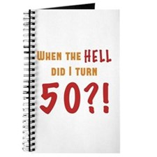 50th Birthday Attitude Journal