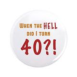 40th birthday gag Single