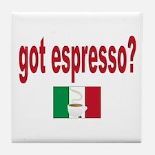 got espresso Tile Coaster