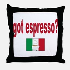 got espresso Throw Pillow