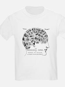 know thyself phrenology head T-Shirt