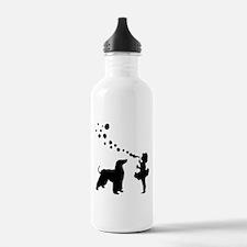 Afghan Hound Water Bottle