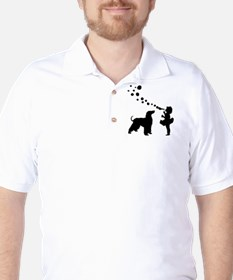 Afghan Hound Golf Shirt