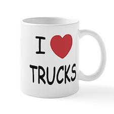 I heart trucks Mug