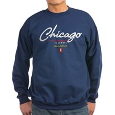 Chicago Script Sweatshirt