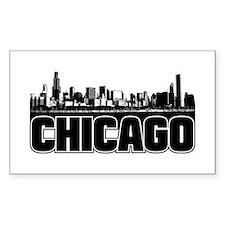 Chicago Skyline Decal