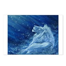 Star Lion Postcards (Package of 8)